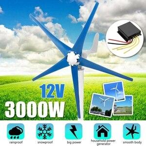 3000W 12/24/48V Horizontal-Axi