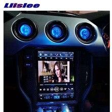 Máy Nghe Nhạc Đa Phương Tiện NAVI Cho Ford Mustang MK6 S550 2015 ~ 2019 Đài Phát Thanh Cảm Ứng Wifi GPS Màn Hình 10.4 Inch Carplay điều hướng
