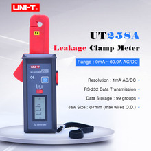 AC/DC Leakage Clamp Meter UNI-T UT258A 10000-count auto range Leakage current Tester RS-232 Data Transmission/Hold/Storage стоимость