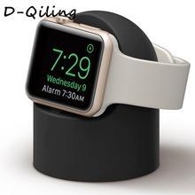 Подставка для apple watch iWatch 42 мм 38 мм 44 мм 40 мм аксессуары для часов apple watch 5 4 3 2 1 держатель станции Черный Белый