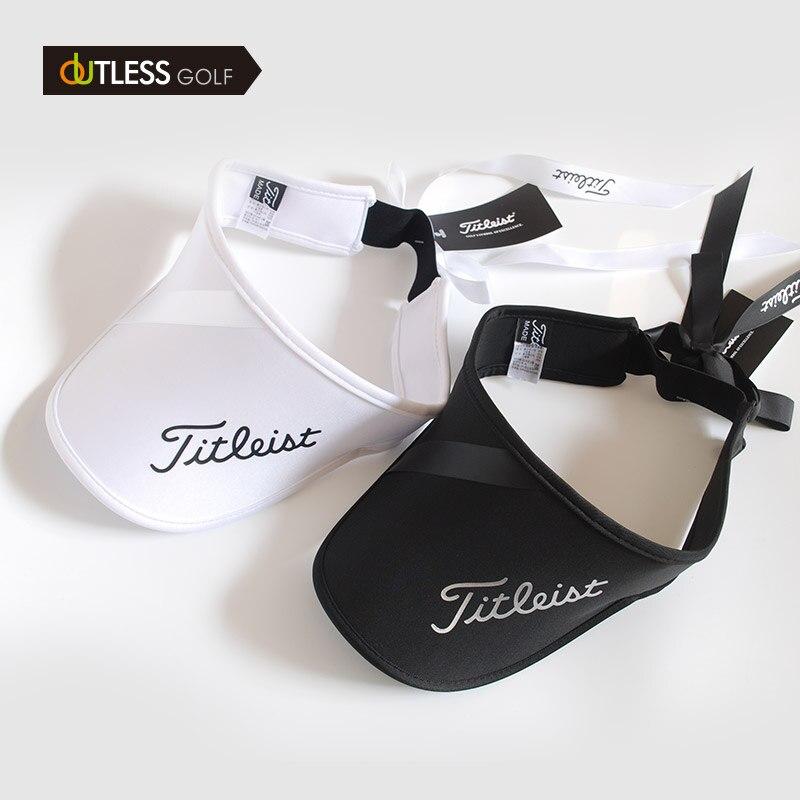Женская кепка для гольфа, верхняя шляпа с бантом, солнцезащитный козырек, регулируемая эластичная конструкция