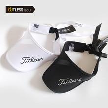 Women's Golf cap Empty Top Hat Bowknot SUN VISOR  Adjustable Stretch Construction