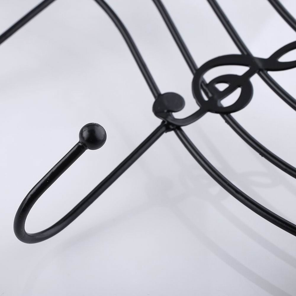 Кованый железный музыкальный инструмент дверь за крючком без