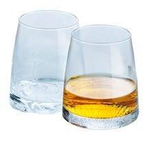 Tasse à Whisky en verre cristal japonais créatif lune de montagne Conception artistique tasses à vin de Whisky gobelet de dégustation Transparent