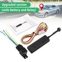 Rastreador de vehículos GSM, localizador de posiciones en tiempo Real, rastreador GPS de coche, GPS, GPRS, alarma para vehículos, camiones, SUV y motocicletas