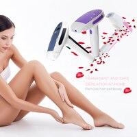 Handheld Pulsed Light Laser Epilator Shaving Permanent IPL Hair Removal Machine for Facial Armpit Beard Legs Household