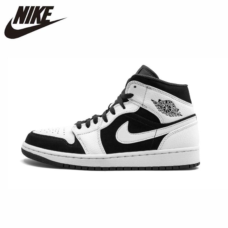 Nike Air Jordan 1 Men Basketball Shoes Comfortable Lightweight Outdoor Sports Sneakers New Arrival #554724-113/BQ6931-007
