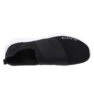 Image 4 - גודל 36 46 יוניסקס נעלי אישה בעבודת יד נעלי נשים להחליק על zapatos de mujer נעלי ספורט מתנה עבור מאהב זוג sapato feminino
