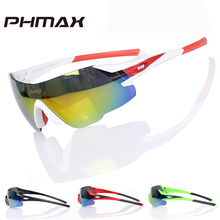 PHMAX Brand Ultralight 23g Colorful Sports Cycling Sunglasses