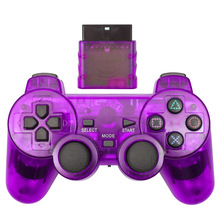 New Wireless  Gamepad  Double Vibration Shock for Sony Playstation 2 PS2 Joystick High Quality
