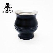 1 Pz/lotto Gaucho Yerba Mate Zucche In Acciaio Inox Calabash A Doppia Parete di Calore Isolato Facile Pulizia Vendita Calda MT018 180