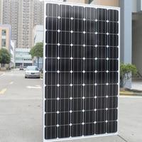 Solar Panel 250w 500w 1000w 1KW 1500w 2000W 2500w 3000w 20v 220V Grid Tie Solar System Off Grid System House Roof Villa Light