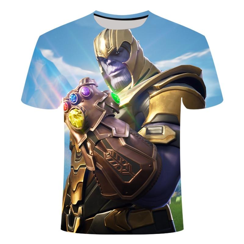 Новинка, футболка Marvel Avengers 4 final, футболка с 3d принтом супергероя Америки, футболка для косплея, Мужская Новая летняя модная футболка - Цвет: TX495