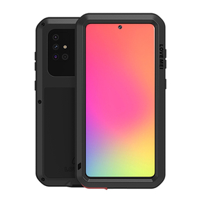 Image 1 - Metal Armor Case For Samsung Galaxy A51 A515F Case 360 Full Shockproof Gorilla Glass Metal Cover for Samsung A50 A71 A70 Shell