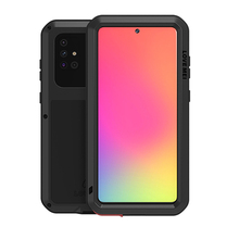 Metal Armor Case Voor Samsung Galaxy A51 A515F Case 360 Volledige Shockproof Gorilla Glass Metal Cover Voor Samsung A50 A71 a70 Shell