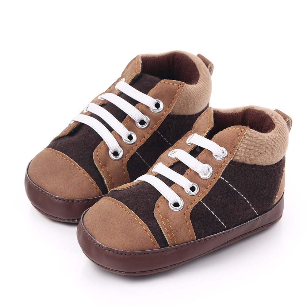 0-12M Baby Boy Shoes New Classic Canvas Newborn Baby Shoes For Boy Prewalker First Walkers Child Kids Shoes