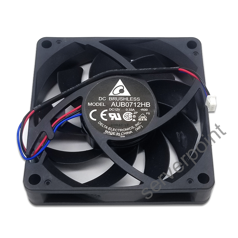Free shipping Original for Delta AUB0712HB 12V 0.33A 7015 7cm 70 * 70 * <font><b>15MM</b></font> projector chassis cooling <font><b>fan</b></font> image