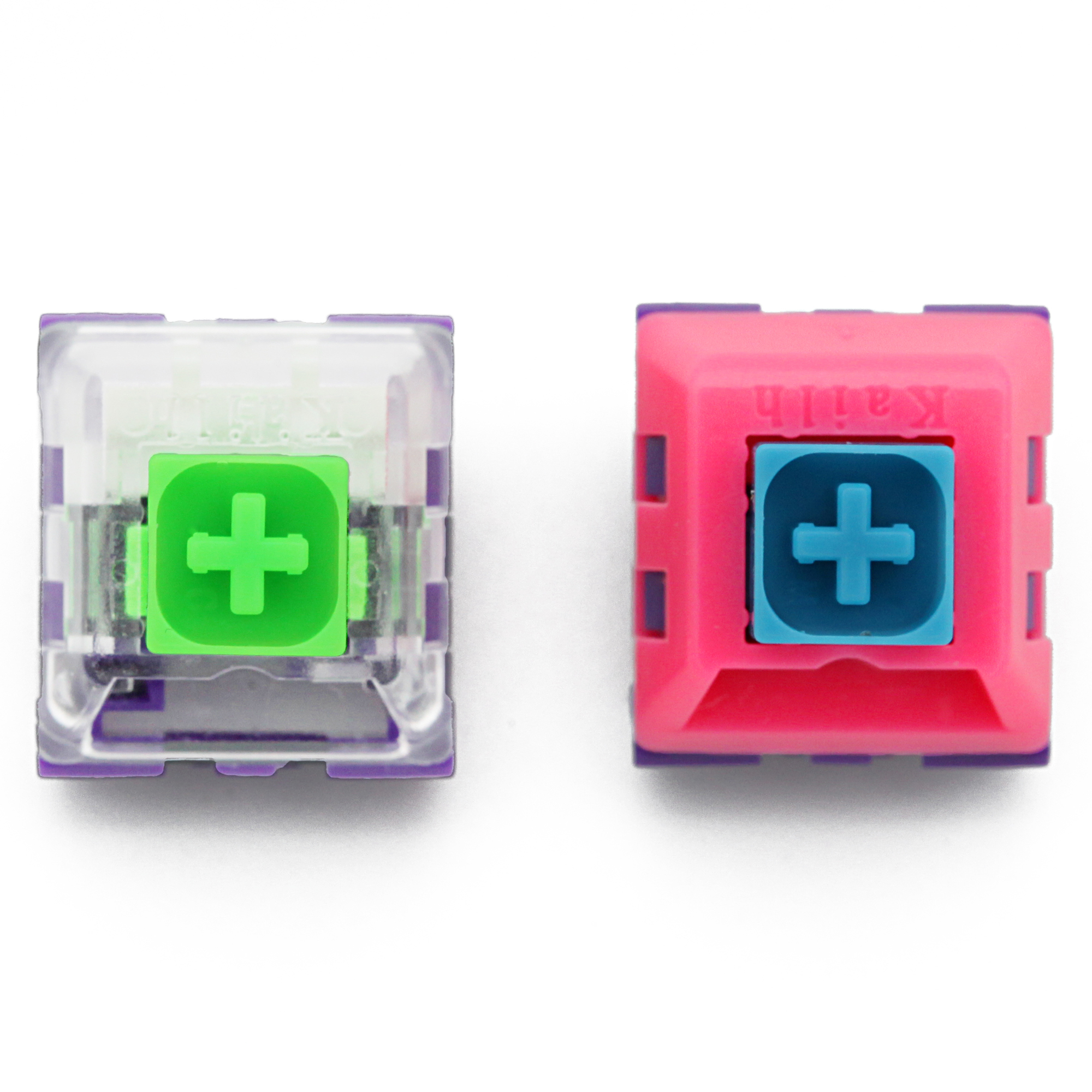 Domikey X Kailh Box Cyber P EVA Tactile Switch SMD Clear MX Switches For Mechanical Keyboard 62g 67g 3pin 50m Clear Housing Punk