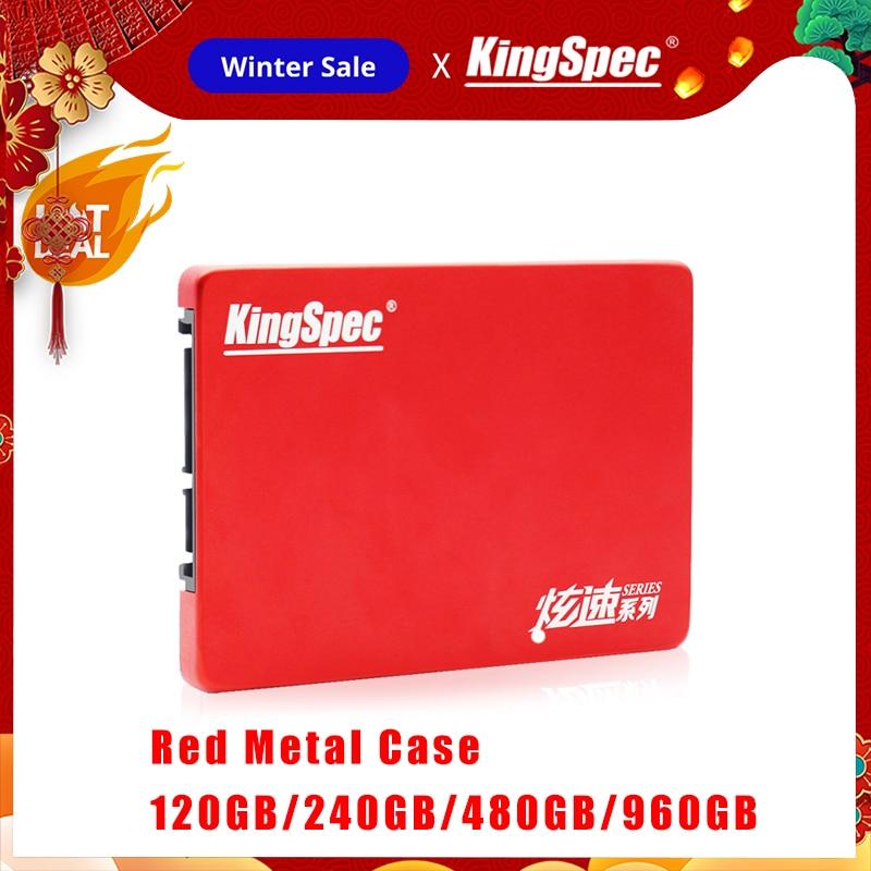 """New KingSpec HDD 2.5"""" SATA SSD 120GB 240GB SSD 480GB 960GB SATAIII Hard Disk Disco Internal Duro Drive For Laptop Tablet Desktop"""