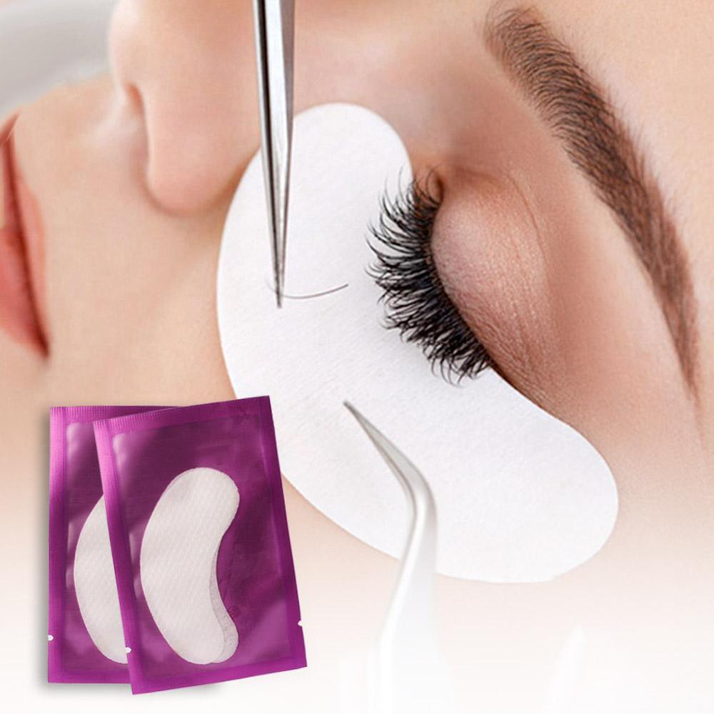 2/10 Pcs Eye Patches Anti-wrinkle Collagen Eyelash Pad Eye Mask Face Care Patch Lint Free Lashes Extension Eyepads Mask