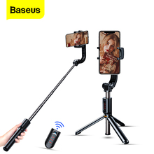 Baseus Bluetooth Selfie Stick with Tripod Stabilizer Self Stick Selfiestick Phone Smartphone Selfie-Stick for iPhone 11 Xiaomi