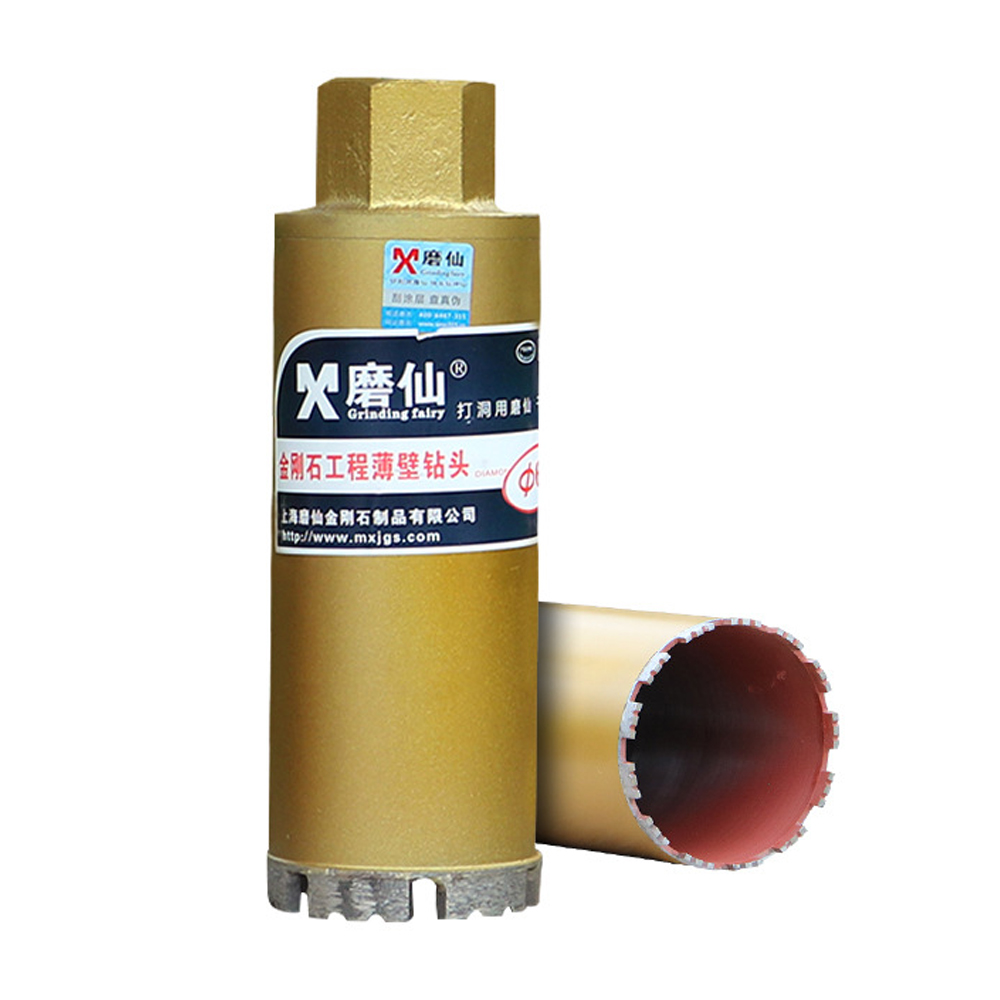 Drill Bit 25-180mm Air Conditioning Pipe Hole Diamond Concrete Core Through The Wall Diamond Dry Water M22 Wire Mouth Drill Bits