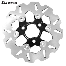 Универсальный плавающий диск из алюминиевого сплава с ЧПУ, тормозные колодки для мотоцикла, 200 мм, шаг отверстия 57 мм, для скутера, спорта, велосипеда
