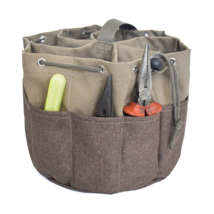Multifunction Portable Tool Organizer Canvas Hand Tool Storage Carry Bags