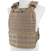 Adjustable Tactical Vest Hunting Airsoft Vest Plate Carrier Body Armor Combat Vest Molle Training Vest CS Protective Vest Gear
