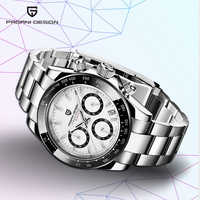 PAGANI DESIGN 2019 nuevos relojes deportivos de cuarzo para hombre, reloj de acero resistente al agua, reloj cronógrafo Masculino a la moda, reloj Masculino