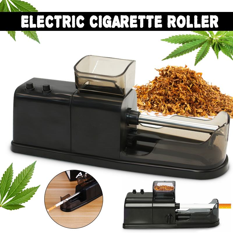 Automatic Cigarette Rolling Machine Electric Tobacco Injector Maker Roller Tool EU/ US Plug