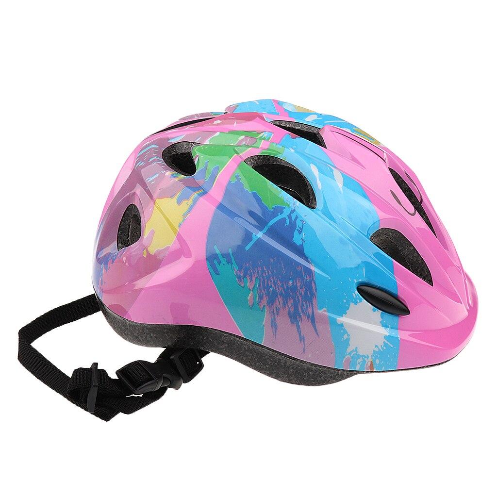 14 Pieces Kids Roller Skate Skateboard Bicycle Helmet Knee Elbow Wrist Pads