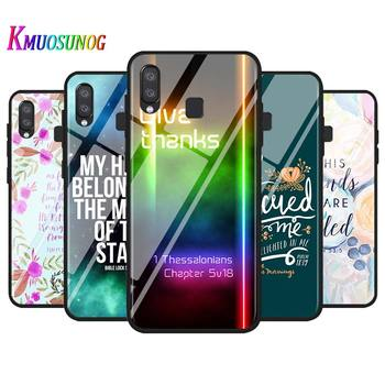 Biblical scriptures for Samsung Galaxy Note 20 Plus Ultra A90 5G A80 A70S A60 A50 A40 A20 A10 Super Bright Phone Case image
