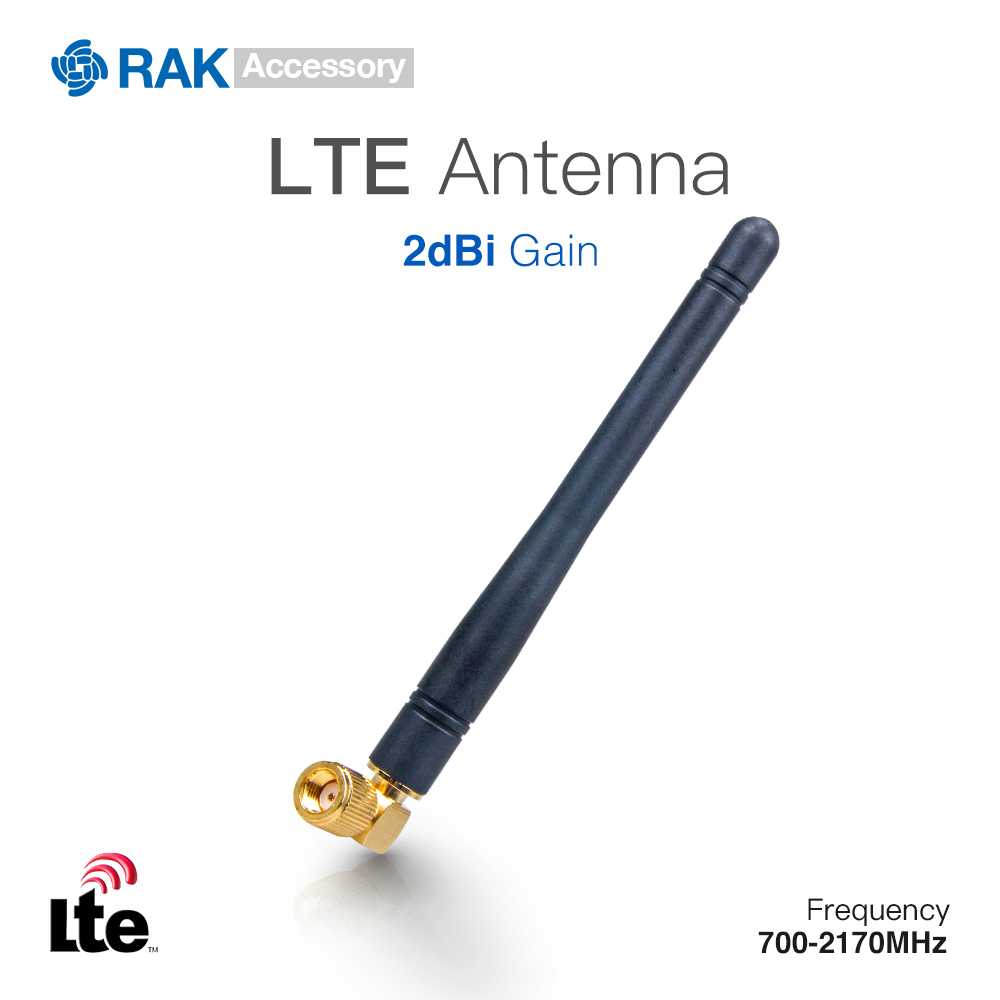 2dBi Gain LTE Antenna SMA Female Connector Cable Frequency:700-2170MHz