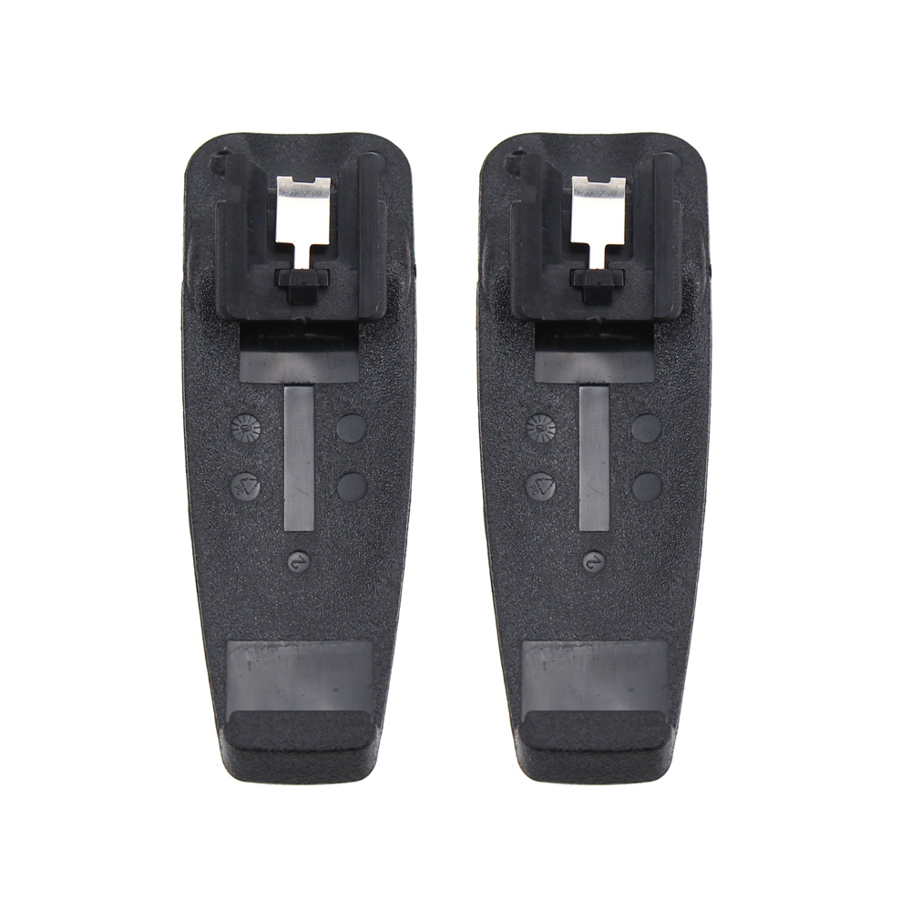 2X Battery Belt Clip for Motorola A10 A12 CP110 EP150 Two Way Radio