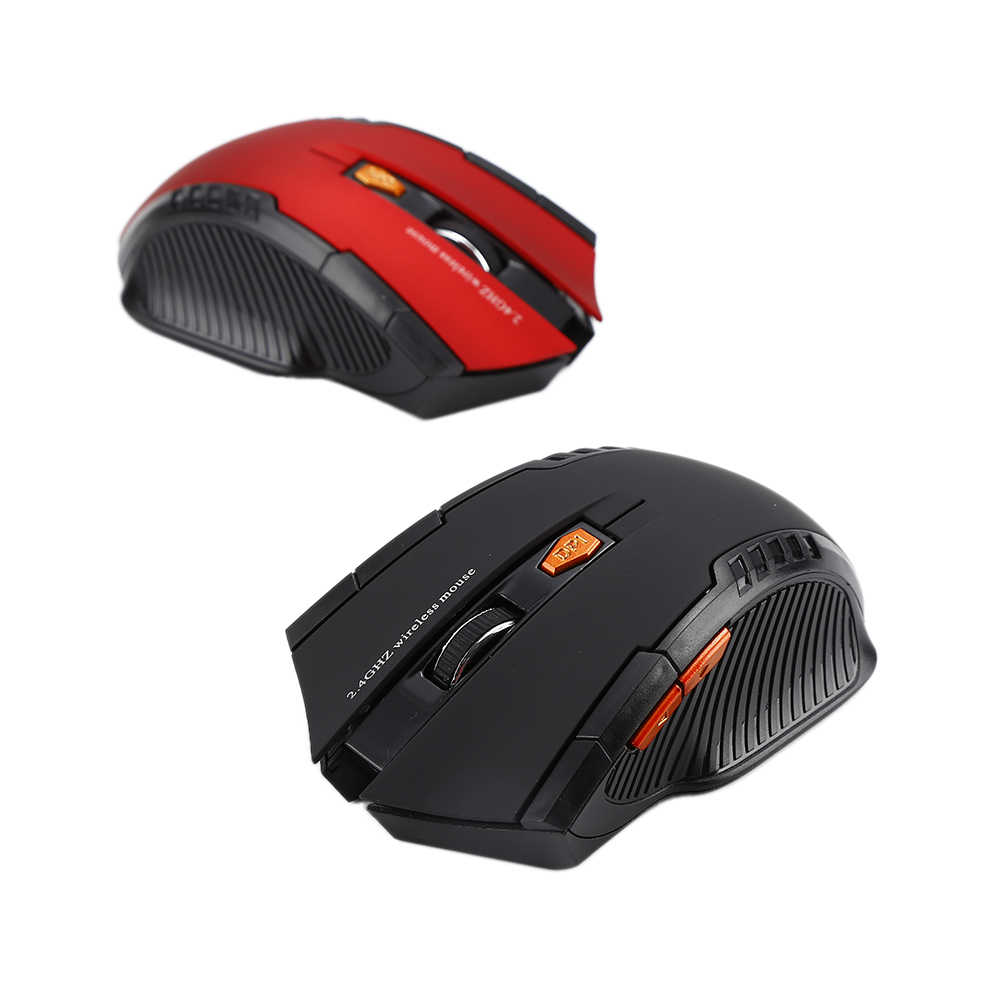 New USB Optical 2.4Ghz Wireless Mouse Computer Gaming Laser Mouse 1600DPI Professional Gamer Mouse Mice for Lap computer