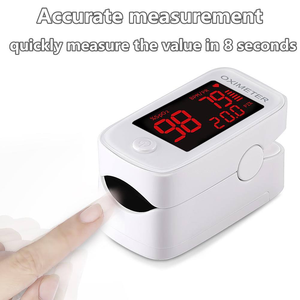 Oxygen Saturation Monitor Portable Oxygen Monitor Heart Rate Monitor Finger Pulse Oximeter