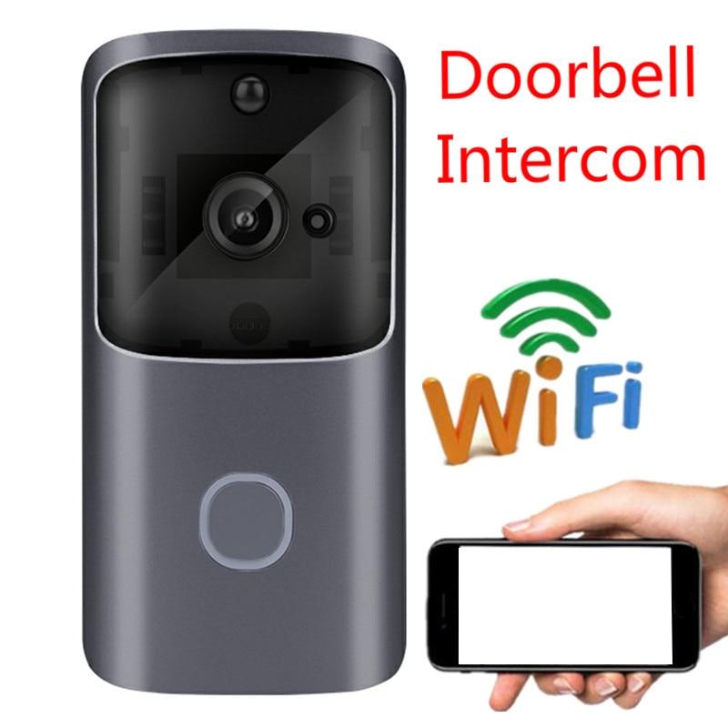 M10 Pro Doorbell Camera Intercom WiFi Doorbell IR Video Smart Doorbells Visual Ring Door Bell Camera Timbre Inalambrico Exterior