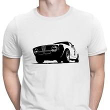 Vintage Alfa Romeo Gta camiseta de corredor regalo Super diseño eslogan camiseta para hombres ropa algodón verano estilo Anlarach imágenes