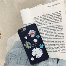 flower Phone Korean Soft Silicone Case for iPhone SF