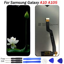 For Samsung Galaxy A10 LCD A105 SM-A105F A105G LCD Display Touch Screen digitizer Assembly Repair parts For Samsung A10 LCD цена и фото