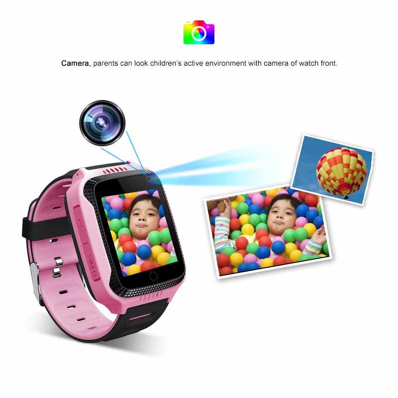 Anti Verloren kinder smart watch Kinder GPS Tracker SOS Smart Überwachung Gps-positionierung Telefon Kinder GPS Baby smart watch es frauen männer