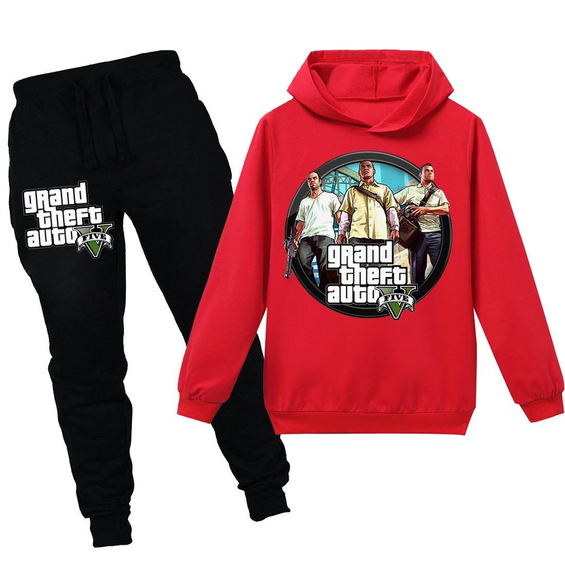 BLUZA Z KAPTUREM Grand Theft Auto V GTA 5