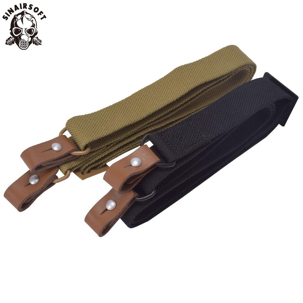 ยุทธวิธีปืนไรเฟิล AK สลิง Airsoft ปรับสายคล้องไหล่ไนลอนป้องกันการฉีกขาดกลางแจ้งการล่าสัตว์ Paintball ...