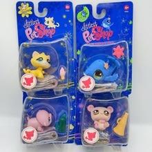 Hasbro анимации LPS Littlest Магазин экшн куклы игрушка мини-чехол для мобильных телефонов с модели животных Коллекция кукол Симпатичные авто аксес...