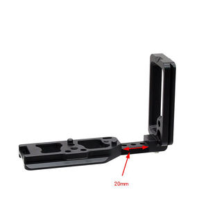 Image 3 - Hot 3C Quick Release Plate Xtendable L Shape Vertical Shoot Hand Grip Qr Camera Bracket Holder For Nikon Z7 Z6 Arca Swiss Rrs