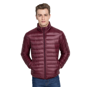 Image 3 - Brother Wang Brand Winter New MensDown Jacket Casual White Duck Down Light Down Men  Warm Coat male men clothes 2020