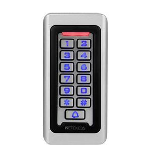 Image 2 - 2pcs RETEKESS T AC03 לוח מקשים RFID בקרת גישה מערכת קרבה כרטיס עצמאי 2000 דלת בקרת גישה עמיד למים מקרה