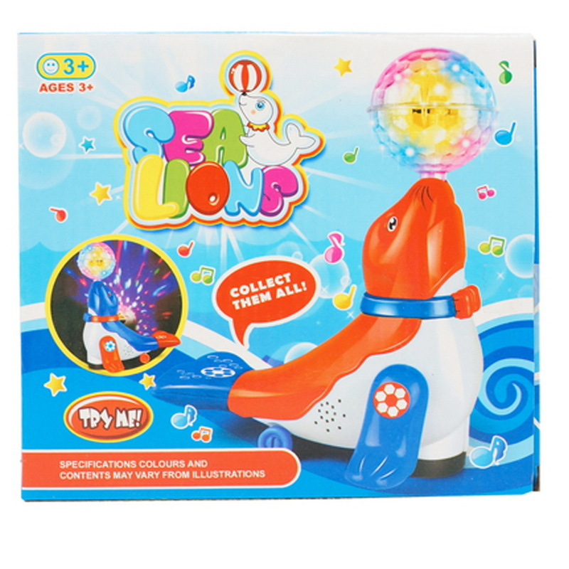 Electric Universal Flash Music Dolphins Dreamy Light Toy Educational Early Childhood CHILDREN'S Toy Stall Hot Selling