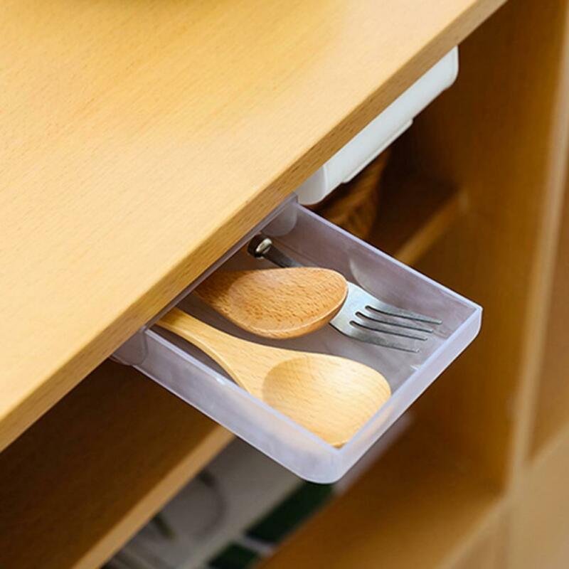 73.0руб. 32% СКИДКА|2020 Новый пенал для карандашей, самоклеящийся ящик под стол, органайзер для стола, коробка для хранения, чехол, коробка для хранения|Ящики и баки для хранения| |  - AliExpress